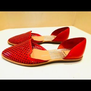 Dolce Vita Red Flats size 6.5